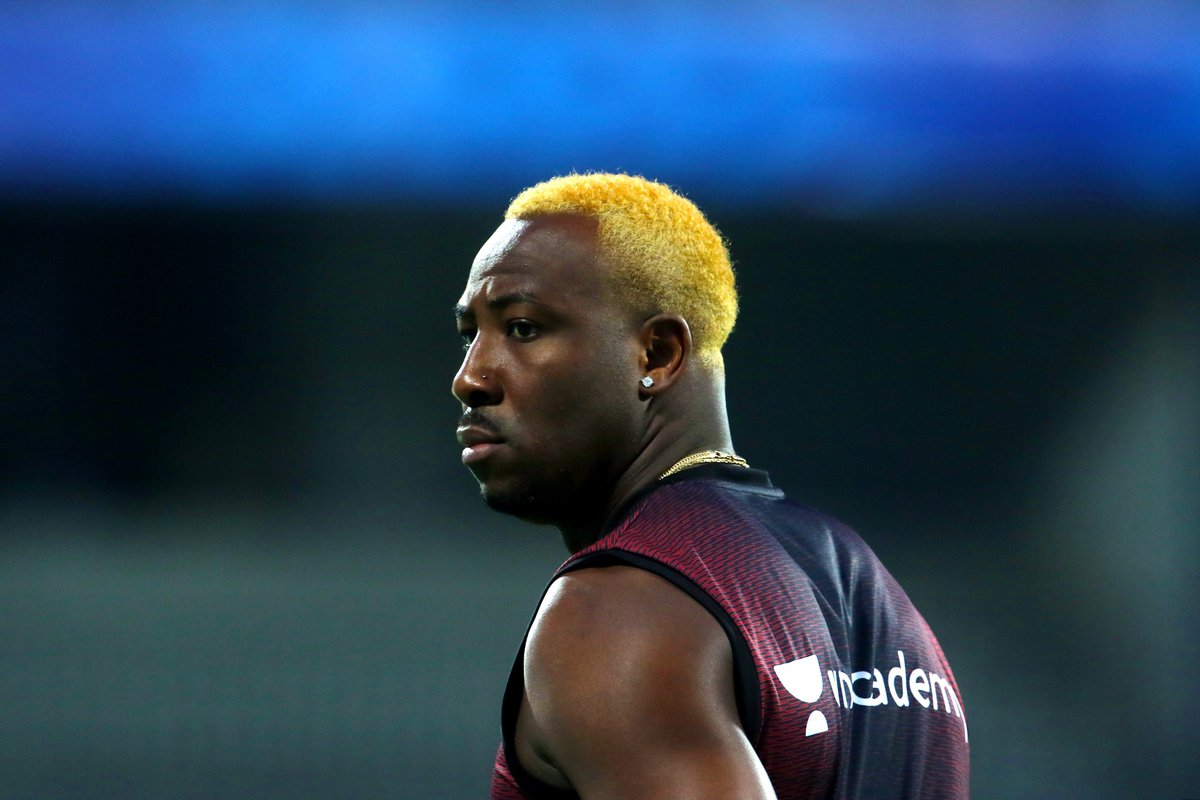 Andre Russell New Hairstyle