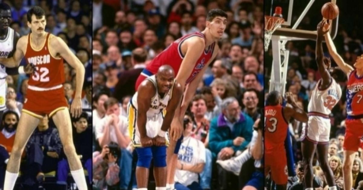 Top 5 Tallest Players of All Time in NBA