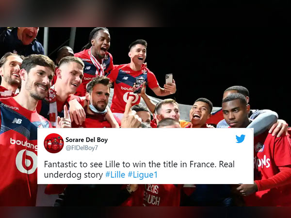 Lille win their first Ligue 1 title in a decade