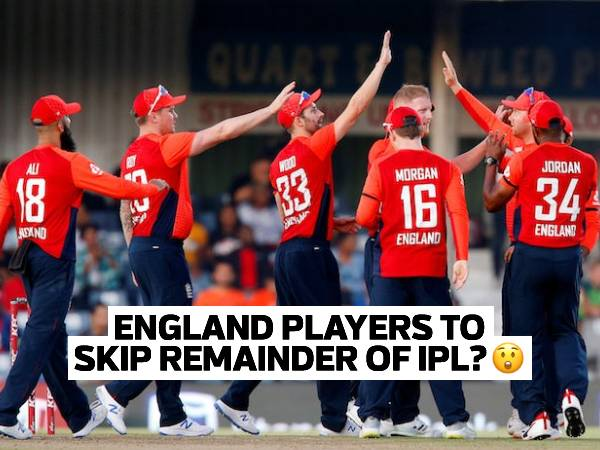 BIG BLOW: England players likely to miss remainder of IPL 2021 season