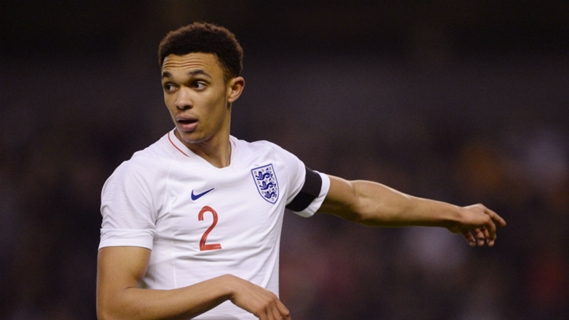 Alexander-Arnold named in England squad for Euro 2020
